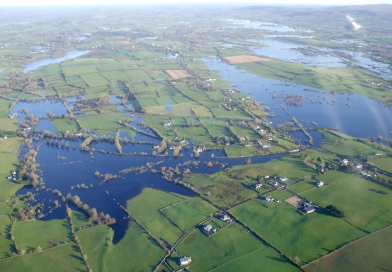 picture of flooded field
