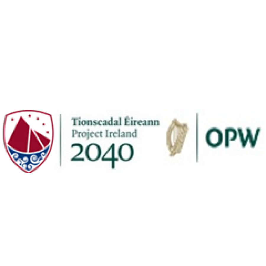 Galway Co Co, Project Irl 2040, OPW logos